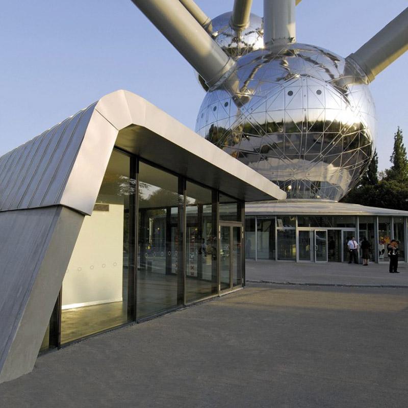 Renovatie Atomium + shop (Brussel)
