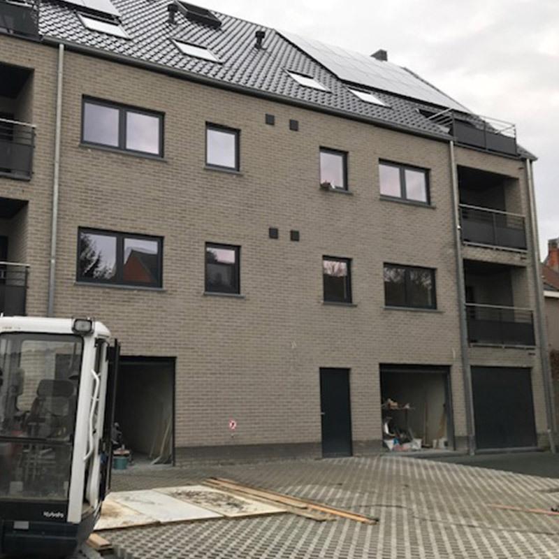 Totaalproject 6 appartementen (Denderleeuw)