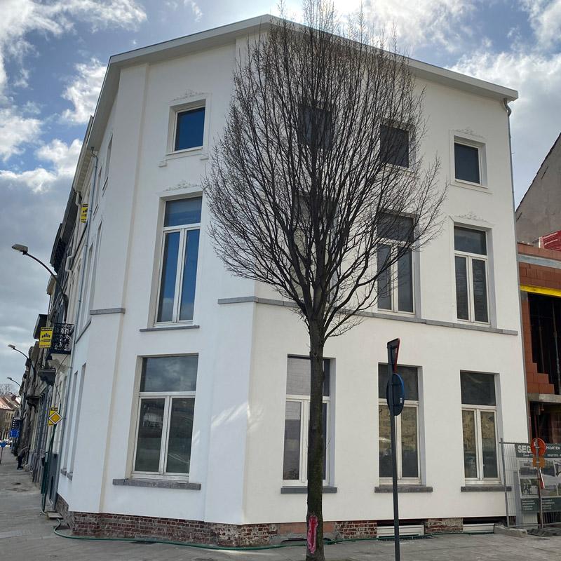 Totaalproject Dampoort 4 luxe app. (Gent)