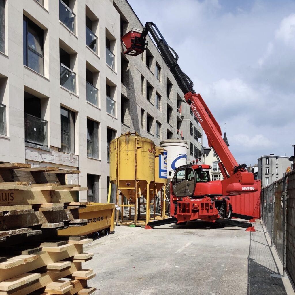 114 appartementen Grand Yard (Antwerpen)